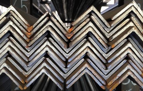 barras comerciales angulares